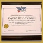 2012 AMA Gold Leader Club Award